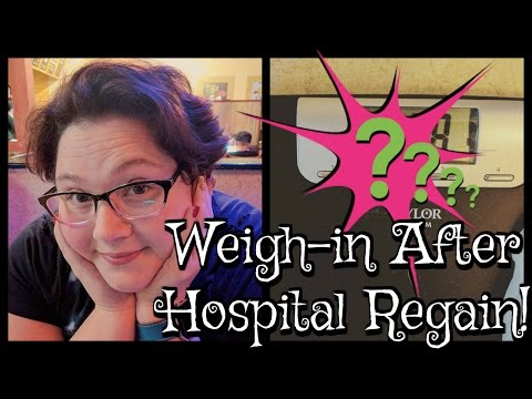 Weigh-in After Hospital Regain| |Blood Ketone Meter | Gastric Bypass RNY WLS Revision