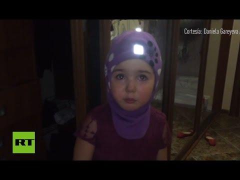 Una niña desea irse a África a morir de hambre