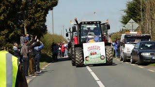Martin Cadden Tractor Run Mullahoran Cavan
