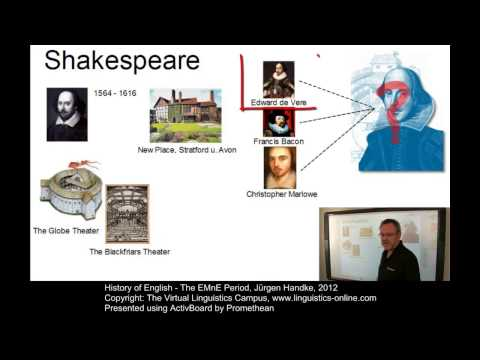 History of English - The EMnE Period
