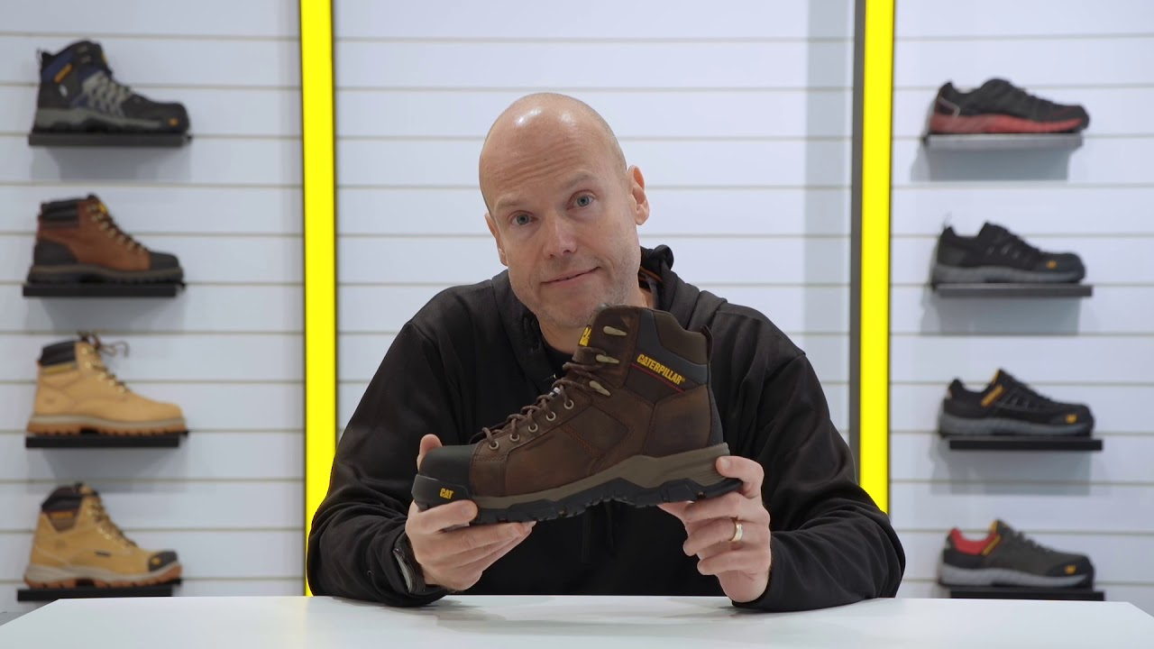 The Carbondate S1P Safety Boot - YouTube