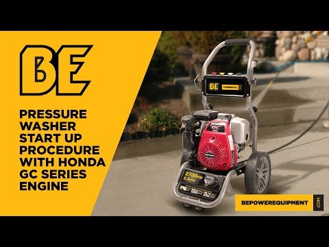 BE316HA 3100 PSI (Gas - Cold Water) Pressure Washer w/ Honda GC190 Engine