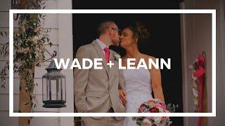 Wade + LeAnn | Wedding Film | The Kyle House | Fincastle, Virginia