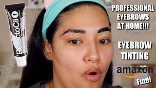 HOW TO: TINT YOUR EYEBROWS AT HOME!! YOU WILL LOVE THIS!!! - ALEXISJAYDA