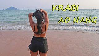 THAILAND Vlog: KRABI Vlog day 1 - Ao Nang Beach & Krabi Town