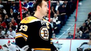Zdeno Chara 108.8MPH Slapshot NEW Record!! 2012 All Star Challenge