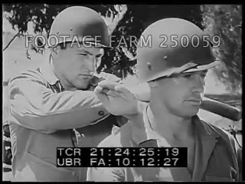 WWII Close Combat Training - 250059-11 | Footage Farm Ltd