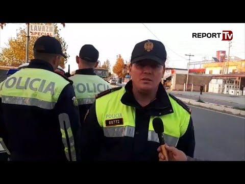 Report TV - Lëvizte me 101 km/orë në zona të ndaluara, policia  ndalon drejtuesin