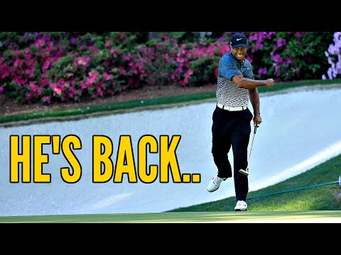 Tiger Woods Is Coming Back!