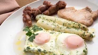 Receta de huevos al salmorrejo - Karlos Arguiñano