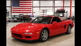 1995 Acura NSX red
