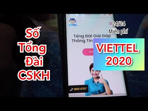 [ Viettel ] Số tổng đài CSKH VIETTEL 2020 miễn phí cước gọi 24/24
