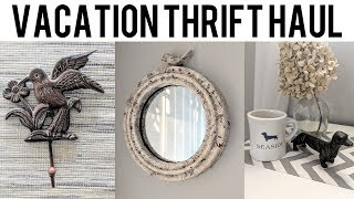 Collective Vacation Thrift Haul & Home Styling! Goodwill & WaterFront Thrift Store Destin Florida