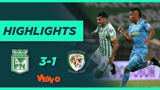 Nacional vs. Jaguares (Goles y highlights) | Liga BetPlay Dimayor 2021-1 | Fecha 14