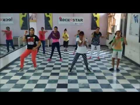 Sun Saathiya || Free style hip hop || Disney's ABCD 2 || Rockstar academy chandigarh