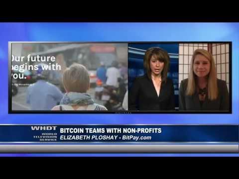 Bitcoin Teams With Non-Profits - Interview With Elizabeth Ploshay