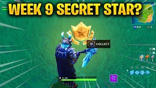 Week 9 SECRET Battle Star REPLACED by SECRET BANNER in Fortnite Season 5