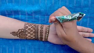 Very Easy and Simple Mehndi for the Beginners - Shmmi