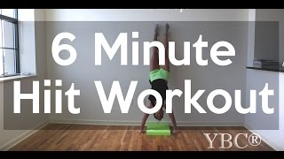 6 Minute Hiit Workout