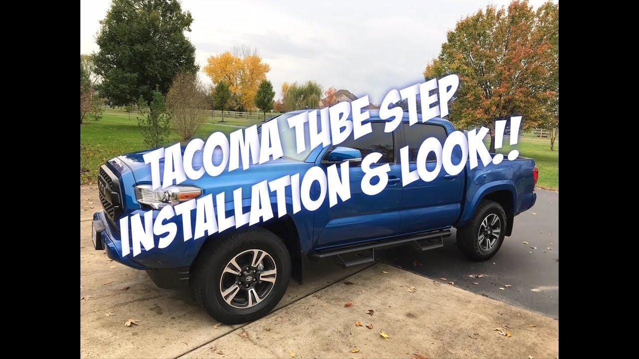 hight resolution of tacoma predator side step install