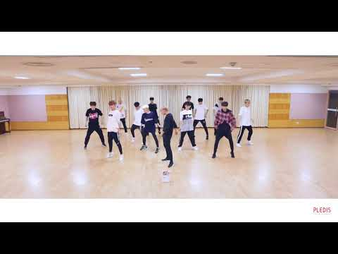 Choreography Video SEVENTEEN Don t Wanna Cry Front Ver 1