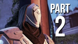 Destiny beta walkthrough part 2 - level 2 - restoration - ps4 gameplay