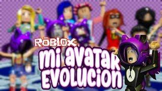 A evolução do meu avatar ROBLOX-meu primeiro Roblox Outfits em espanhol