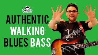 How To Play Authentic Walking Blues Bass