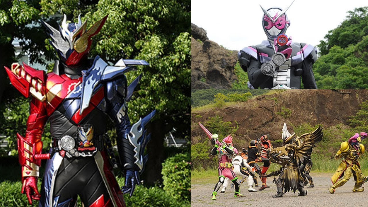 Kamen Rider Zi-O will appear with Legendary Heisei Riders on Kamen Rider  Build: Be The One!