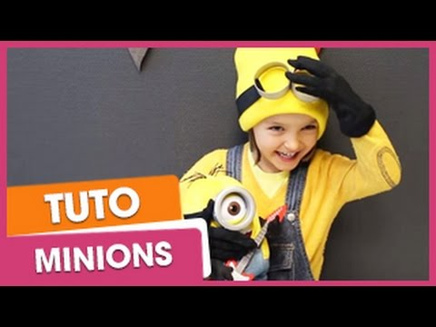 carnaval cr er son d guisement de minion youtube. Black Bedroom Furniture Sets. Home Design Ideas