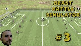 Dinozor Futbol Maçları - Beast Battle Simulator # 3