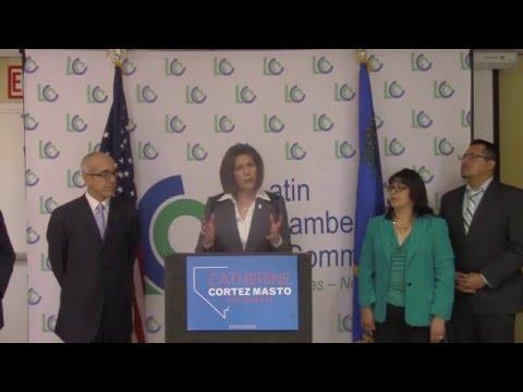 Nevada Hispanic Legislative Caucus Endorses Catherine Cortez Masto for U.S. Senate