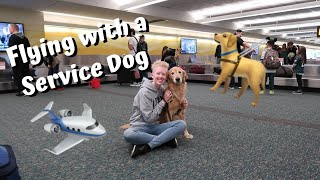 Flying with a Service Dog || Guide Dog Edition
