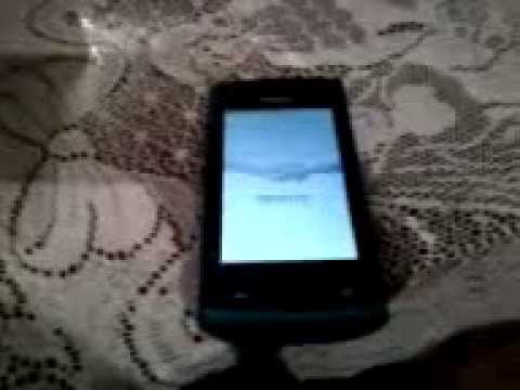 NOKIA 500 symbian belle