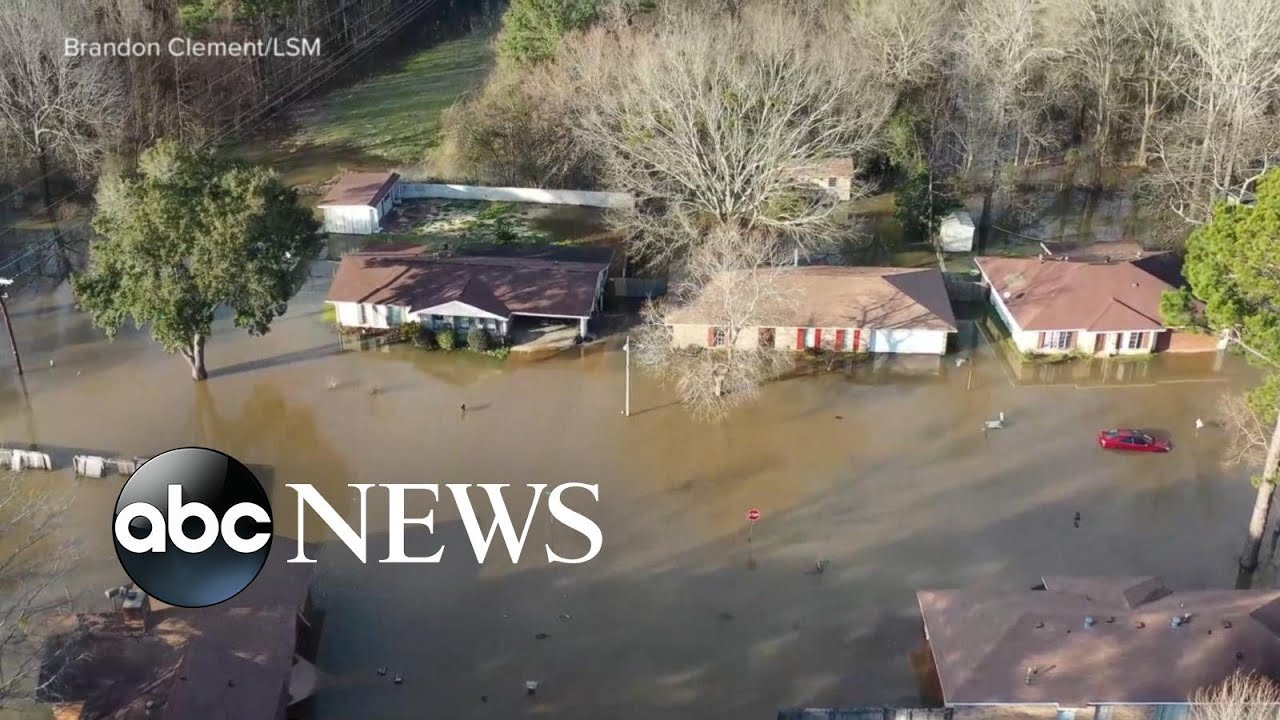 Flooding prompts state of emergency in Mississippi