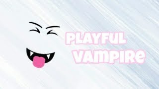 I bought Playful Vampire! | ROBLOX
