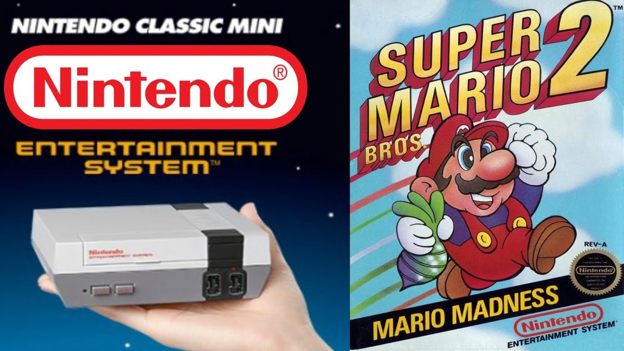 Super Mario Bros 2  Nintendo Classic Mini  Folge 26 -9745