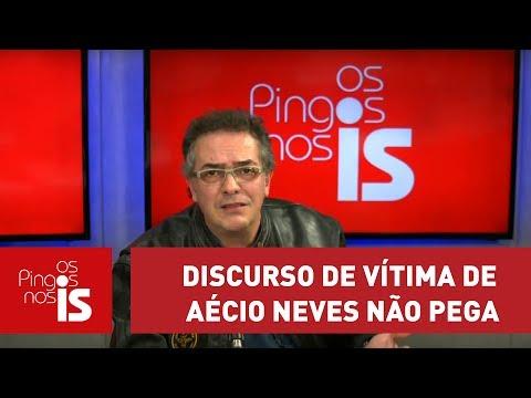 Claudio Tognolli: Discurso De Vítima De Aécio Neves Não Pega Mais