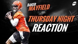 NFL preseason week 1 reaction: Baker Mayfield | PFF