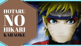 Naruto Shippuden OP 5 KARAOKE | Hotaru no Hikari - Ikimonogakari 「Instrumental/Lyrics」