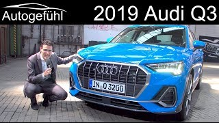 All-new Audi Q3 REVIEW premiere 2019 Exterior Interior - Autogefühl