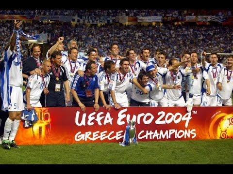 Recordando a Grecia campeon europeo 2004