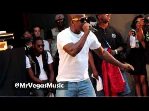 Mr Vegas - Party Tun Up Live performance