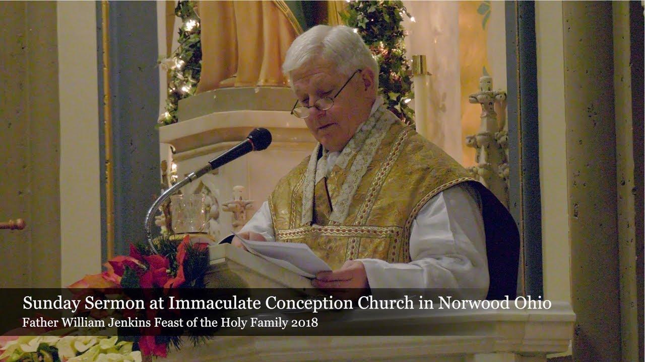 Sunday Sermon Feast of the Holy Family 2018