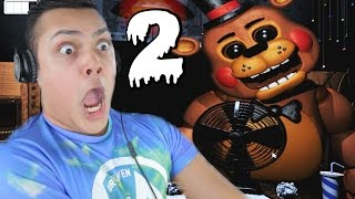 """FIVE NIGHTS AT FREDDY'S 2"" BIGGEST JUMPSCARE EVER! (Night 1 & Night 2 Gameplay) Thumbnail"