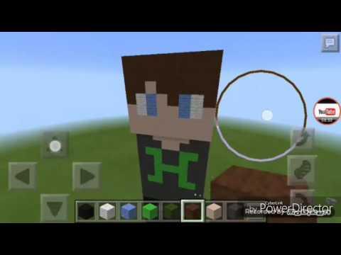 Han Kanal Minecraft Skin Ini çizimi