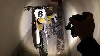 Found Stolen DIRT BIKE In ABANDONED MILITARY BASE!
