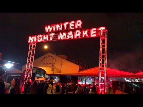 Winter Night Markets // Melbourne, Australia