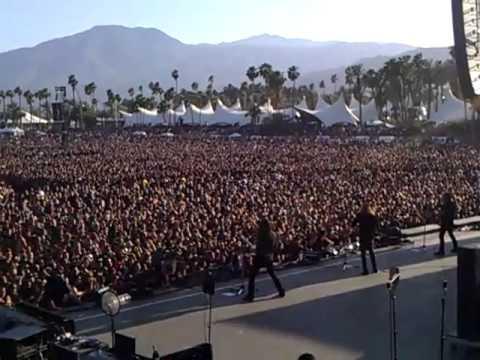 Megadeth Indio CA 2