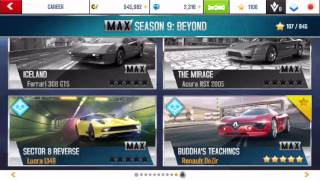 Asphalt 8 Farming 5600 credit season 9 by Alfa Romeo 4c